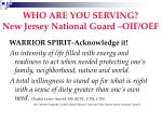 who are you serving new jersey national guard oif oef