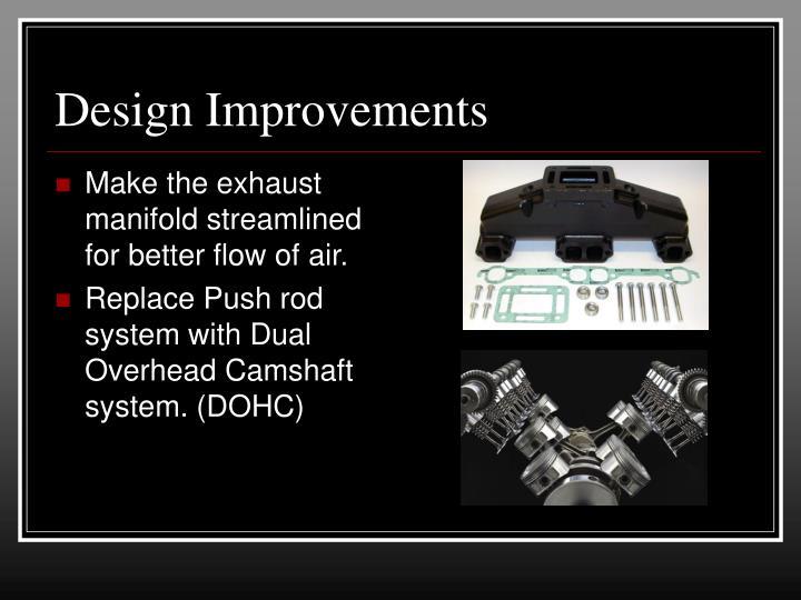 Design Improvements