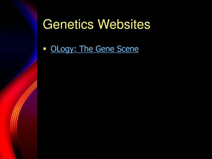 Genetics Websites