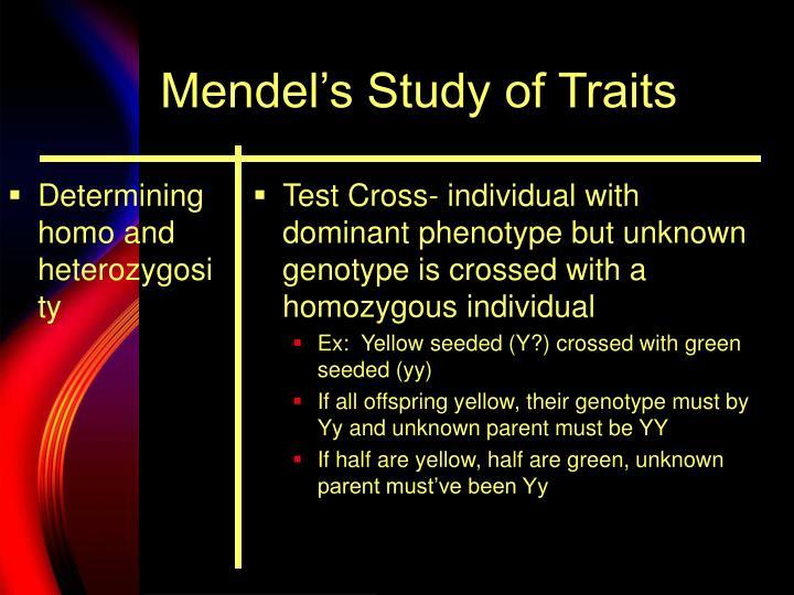 Determining homo and heterozygosity
