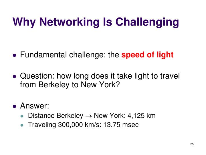 Why Networking Is Challenging