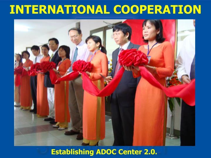 Establishing ADOC Center 2.0.