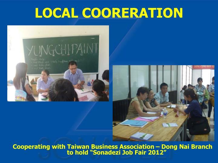 "Cooperating with Taiwan Business Association – Dong Nai Branch to hold ""Sonadezi Job Fair 2012"""