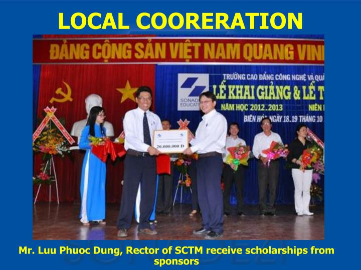 LOCAL COORERATION