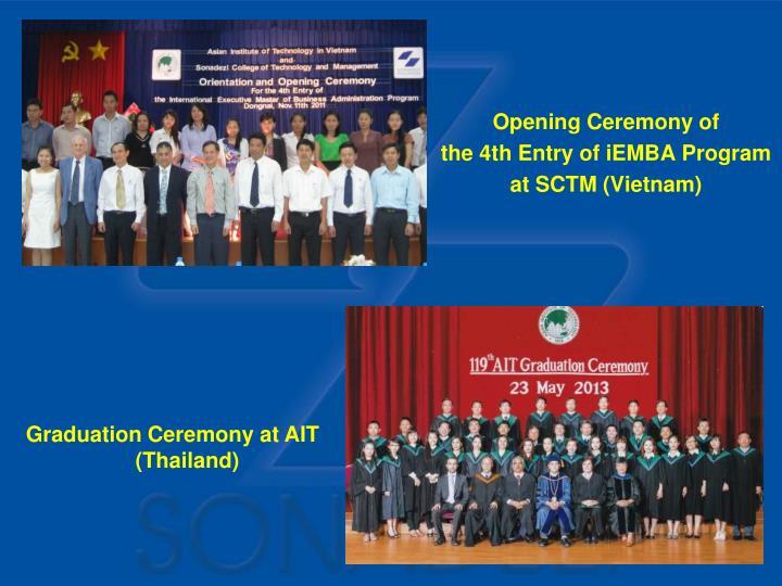 Opening Ceremony of