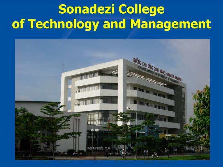 Sonadezi College
