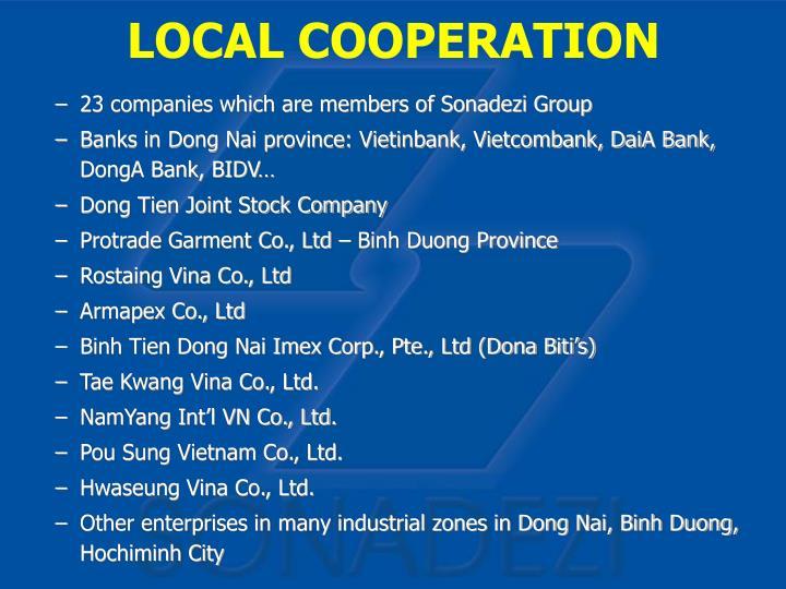LOCAL COOPERATION
