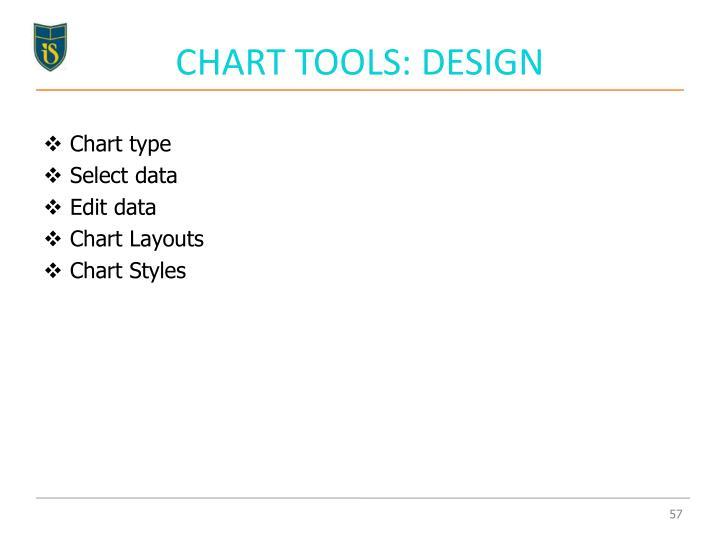 CHART TOOLS: DESIGN