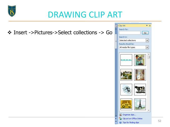 DRAWING CLIP ART