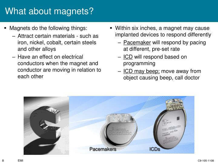What about magnets?