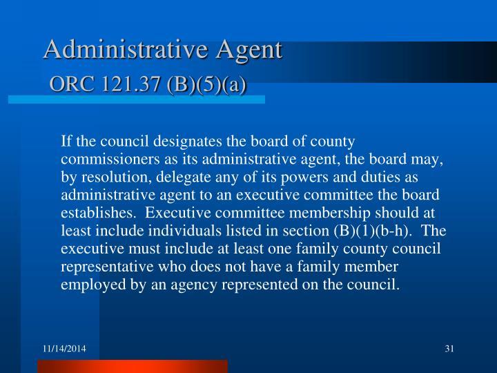 Administrative Agent