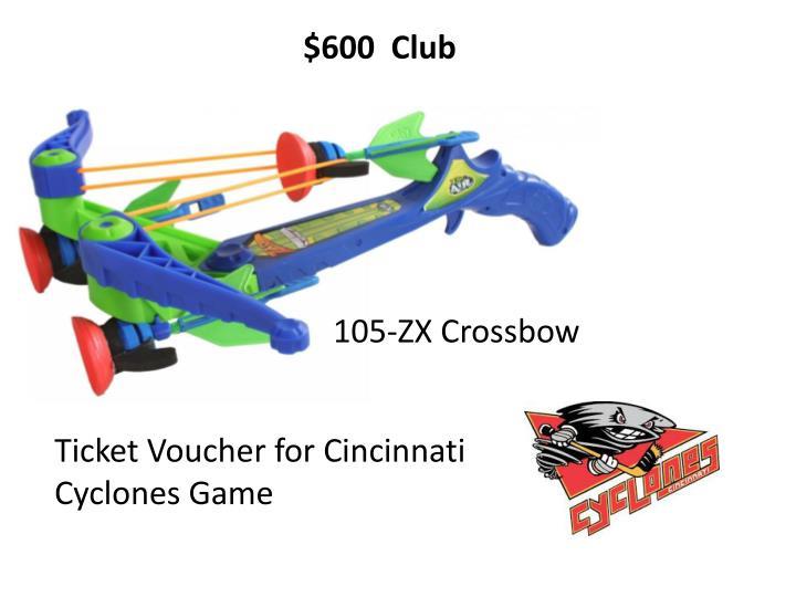 $600  Club