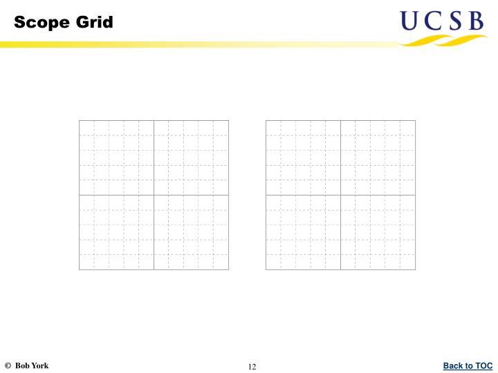 Scope Grid