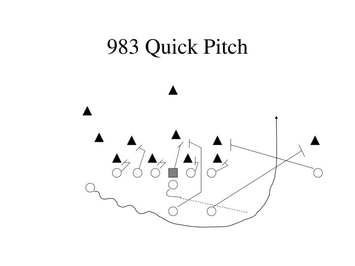 983 Quick Pitch