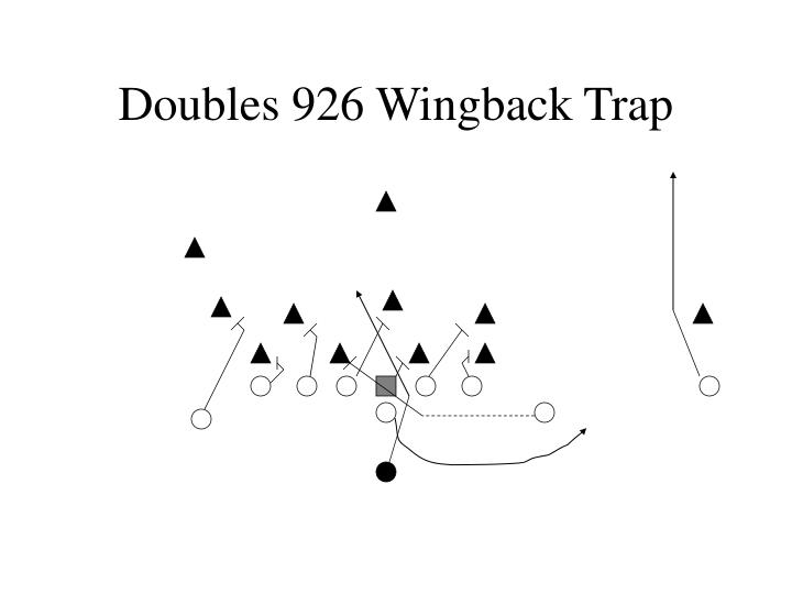 Doubles 926 Wingback Trap
