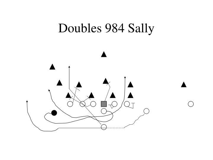 Doubles 984 Sally