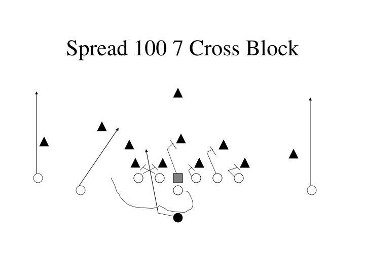 Spread 100 7 Cross Block