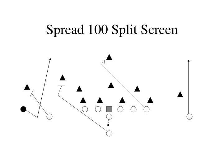 Spread 100 Split Screen