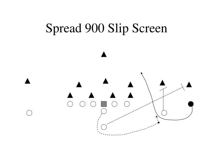 Spread 900 Slip Screen