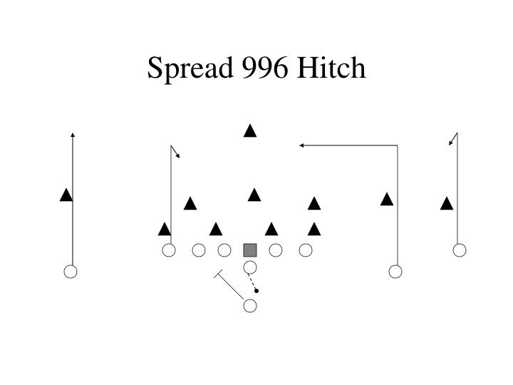 Spread 996 Hitch
