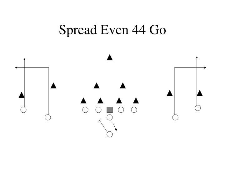 Spread Even 44 Go