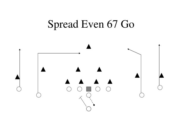 Spread Even 67 Go