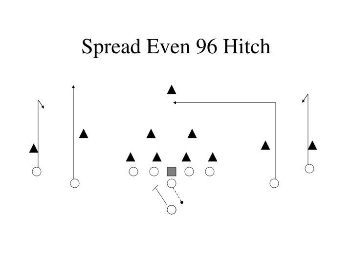 Spread Even 96 Hitch