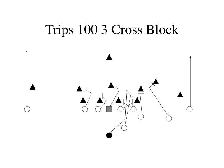 Trips 100 3 Cross Block