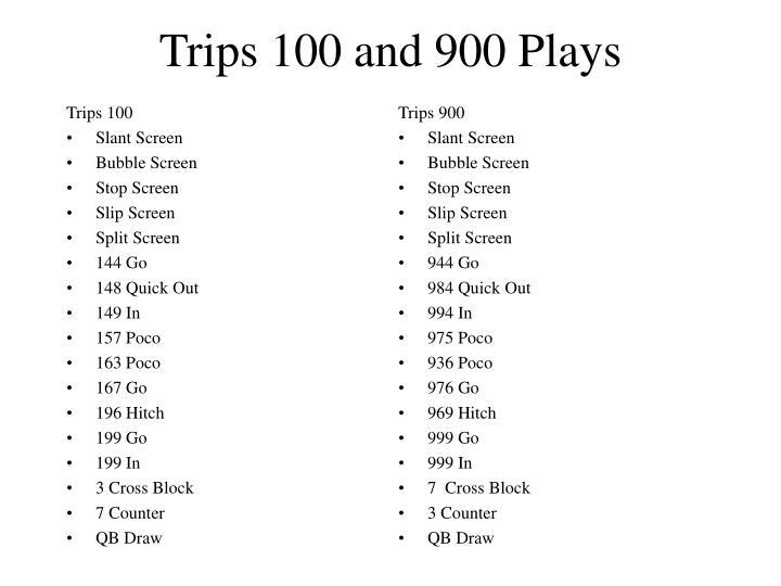 Trips 100