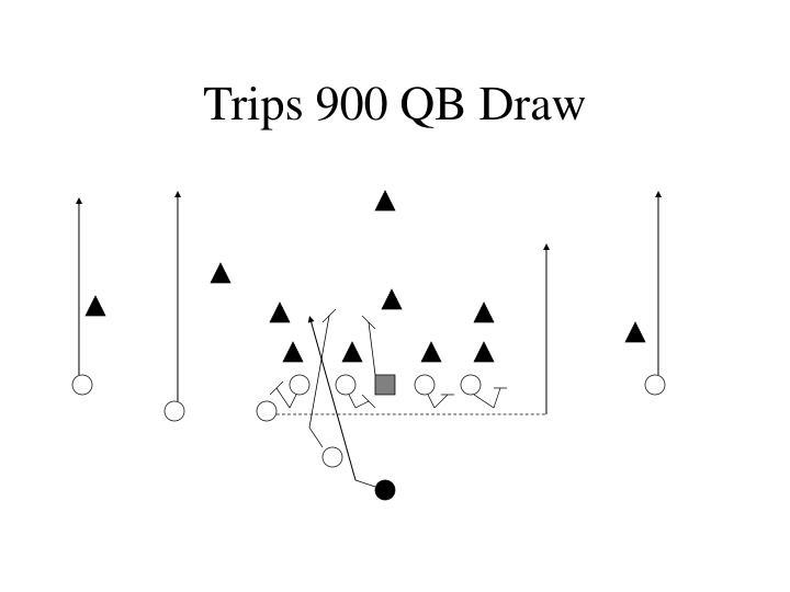 Trips 900 QB Draw