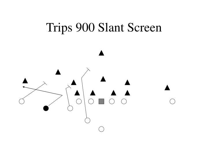 Trips 900 Slant Screen