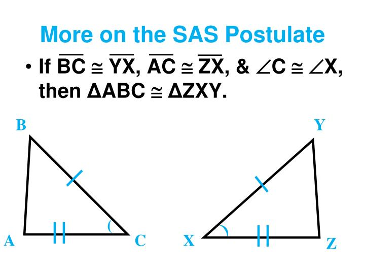 More on the SAS Postulate