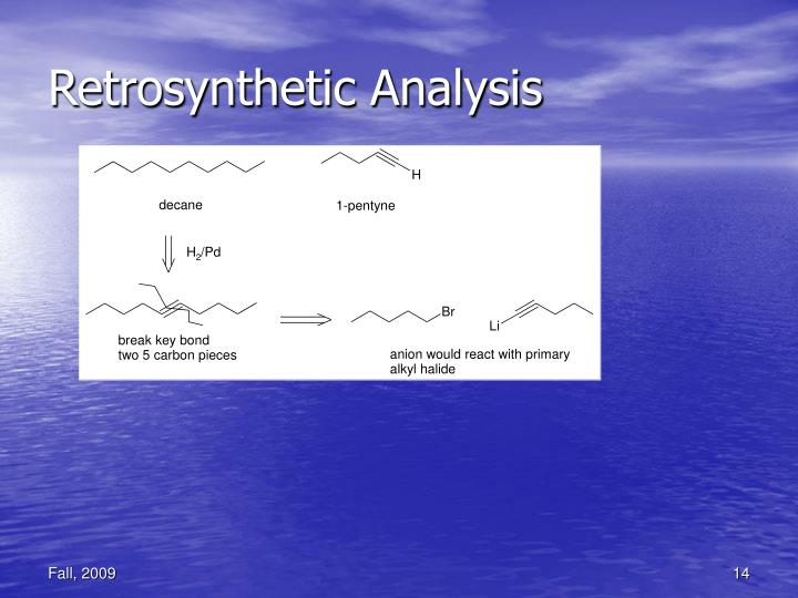 Retrosynthetic Analysis