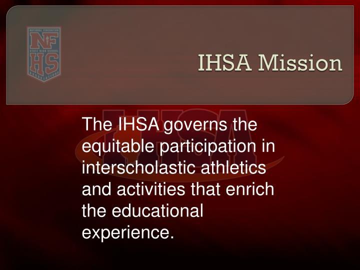 Ihsa mission
