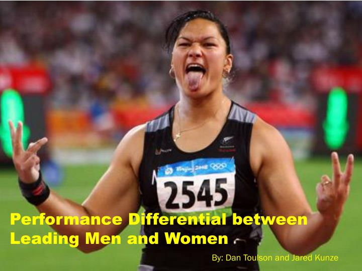 Performance Differential between Leading Men and Women