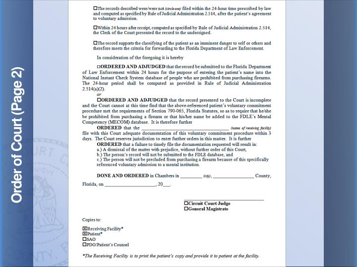Order of Court (Page 2)