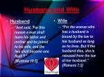 husband and wife