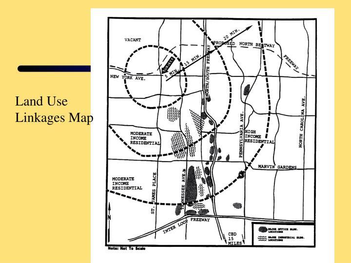 Land Use Linkages Map