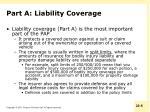 part a liability coverage