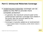 part c uninsured motorists coverage2