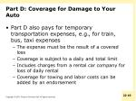 part d coverage for damage to your auto2