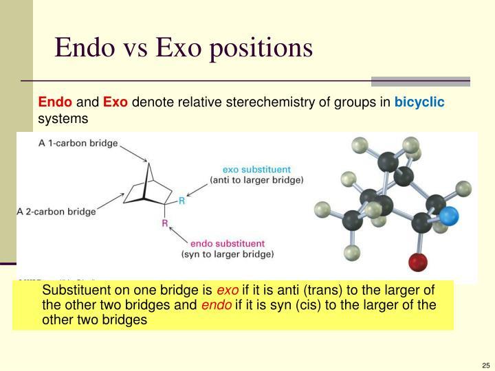 Endo vs Exo positions