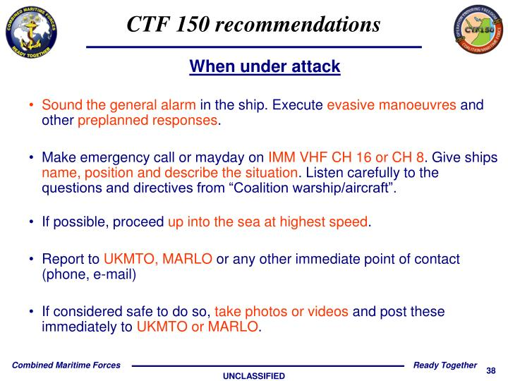CTF 150 recommendations