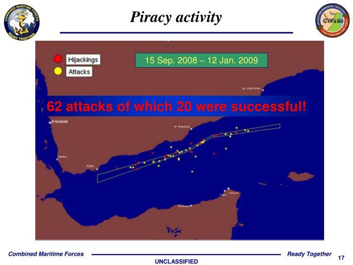 Piracy activity