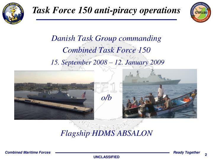 Danish Task Group commanding