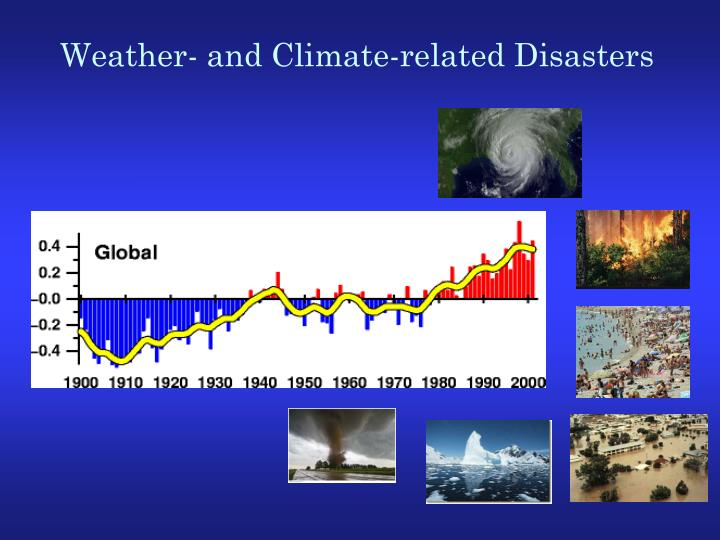 Weather- and Climate-related Disasters