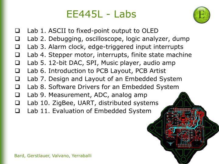 EE445L - Labs
