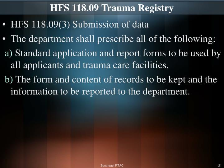 HFS 118.09
