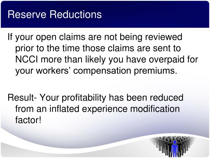 Reserve Reductions