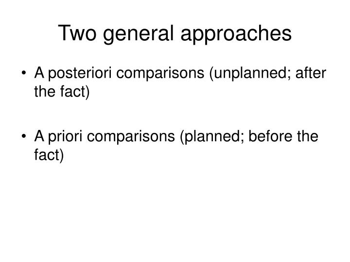 a priori a posteriori differences essay Taking these differences into account, kripke's controversial analysis of naming as contingent and a priori would, according to stephen palmquist, best fit into kant's epistemological framework by calling it analytic a posteriori.
